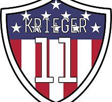 Ali Krieger #11 | USWNT by dysfnctnlysane