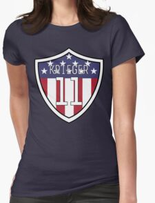 Ali Krieger #11 | USWNT Womens Fitted T-Shirt