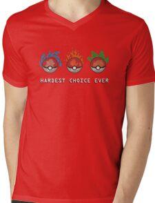 Hard Choices Mens V-Neck T-Shirt