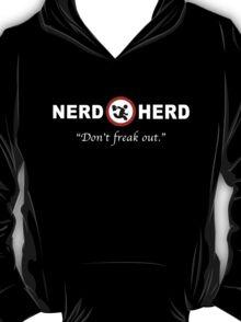 Nerd Herd Don't Freak Out Chuck Tee T-Shirt