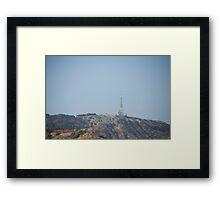 Hollywood Framed Print