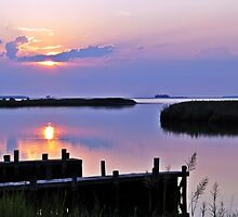 Sunset in the Low Country by jbarnesphotos
