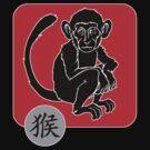 Year of The Monkey Chinese Zodiac Monkey Symbol by ChineseZodiac