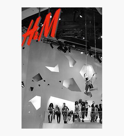 H & M Photographic Print