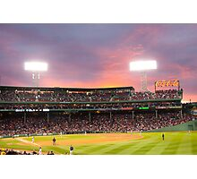 Red Sox Baseball game in Boston Photographic Print