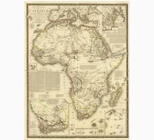 Vintage Map of Africa (1828) Unisex T-Shirt