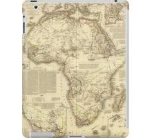 Vintage Map of Africa (1828) iPad Case/Skin