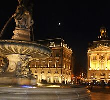 Bordeaux at night by graceloves