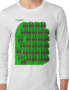 Domo-esque  Long Sleeve T-Shirt