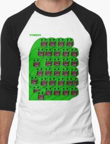 Domo-esque  Men's Baseball ¾ T-Shirt