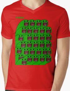 Domo-esque  Mens V-Neck T-Shirt