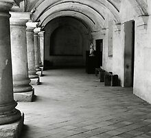 Antigua, Guatemala - Corridor by jadennyberg