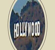 Hollywood Sign in frame by yonni