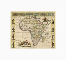 Vintage Map of Africa (1660) Unisex T-Shirt