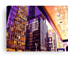 Broadway NYC heats up Canvas Print
