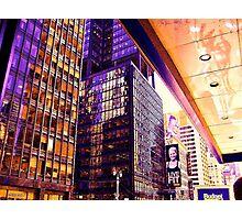 Broadway NYC heats up Photographic Print