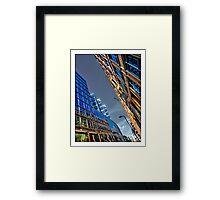 Appold Street skyline Framed Print