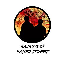 Bad Boys of Baker Street Modern Edition (Black) Photographic Print