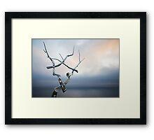 Steel Dawn Framed Print