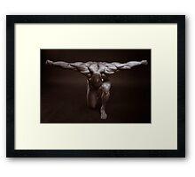 Athlete Framed Print