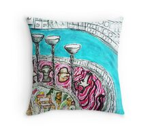 Wine Tasting in Sydney Throw Pillow