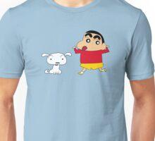 Shin-chan & Shiro Unisex T-Shirt