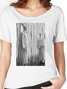 China Sculpture Women's Relaxed Fit T-Shirt