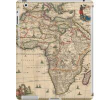 Vintage Map of Africa (1689) iPad Case/Skin