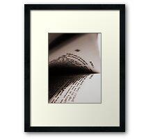 MATTHEW Framed Print