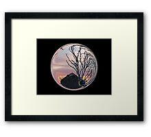 Cindy's Snow Globe's Framed Print