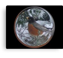 Cindy's Snow Globe's 5 Canvas Print