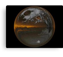 Cindy's Snow Globe's 7 Canvas Print