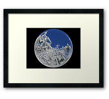 Cindy's Snow Globe's 9 Framed Print