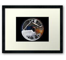 Cindy's Snow Globe's 10 Framed Print