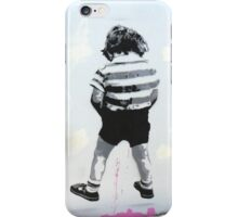 Boy Peeing iPhone Case/Skin