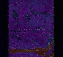 USGS Topo Map Washington State WA Rimrock Lake 243460 1967 24000 Inverted by wetdryvac