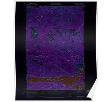 USGS Topo Map Washington State WA Rimrock Lake 243460 1967 24000 Inverted Poster