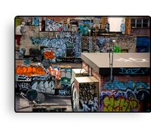 Alphabet city Canvas Print