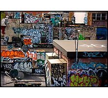 Alphabet city Photographic Print