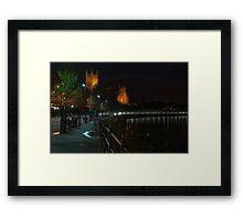 Cleve Walk, Worcester Framed Print