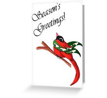 Carolina Christmas Greeting Card