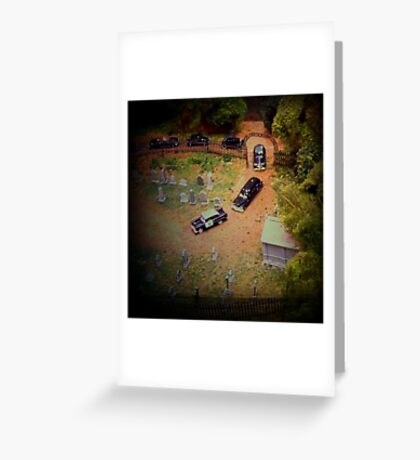Departure in Minature Greeting Card