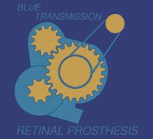 Blue Transmission by Elton McManus