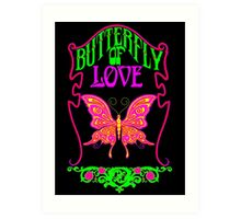 Butterfly of Love Art Print