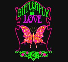 Butterfly of Love Womens Fitted T-Shirt