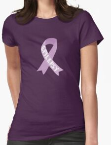 Epilepsy Awareness Ribbon Womens Fitted T-Shirt