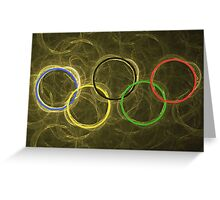 Olympic Greeting Card