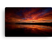 Marvel - Narrabeen Lakes, Sydney, Australia - The HDR Experience Canvas Print