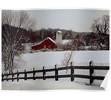 Pennsylvania Winter Poster
