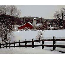 Pennsylvania Winter Photographic Print